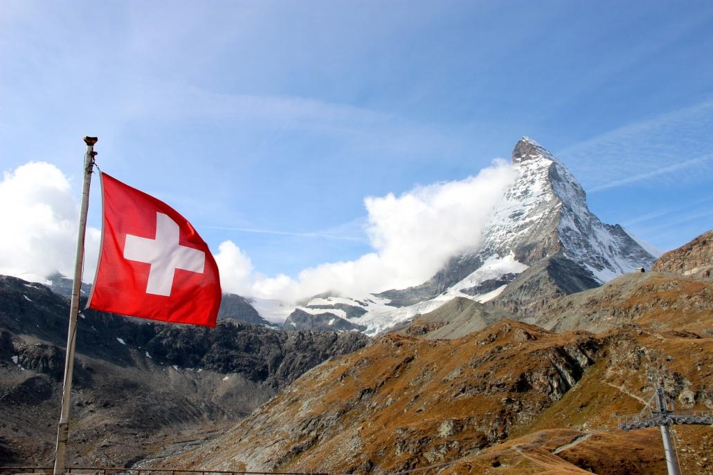 Eins Schweizer Berg